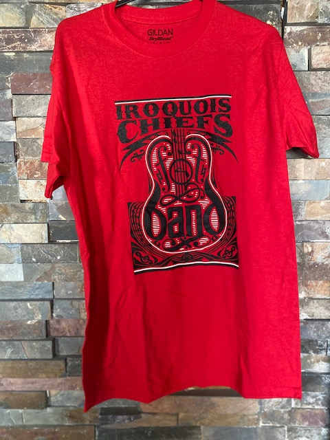Iroquois Band Red T-Shirt